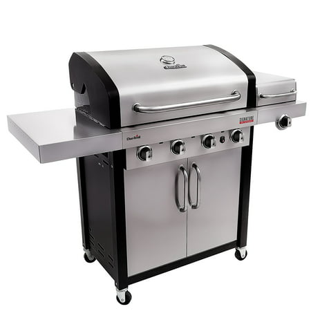 Char Broil Signature Tru Infrared 4 Burner Gas Grill Walmart