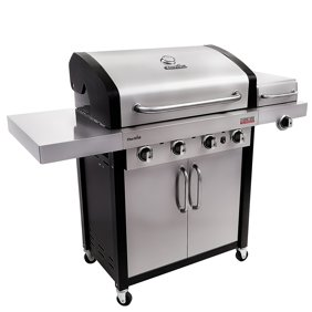 Monument Grills 4 Burner Gas Grill With Side Sear Burners 54 Inch