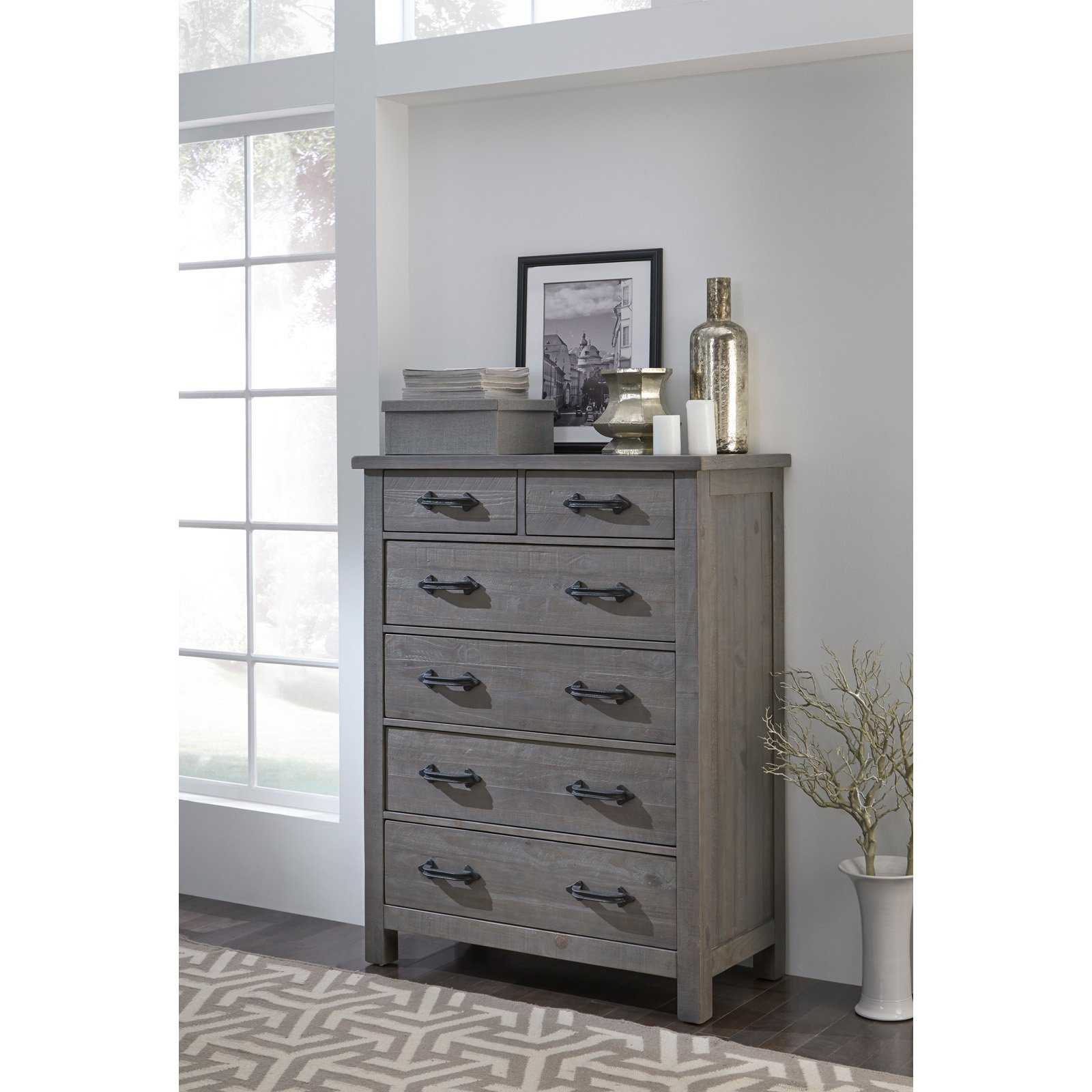 Click here to buy Modus Austin 6-Drawer Chest by Overstock.