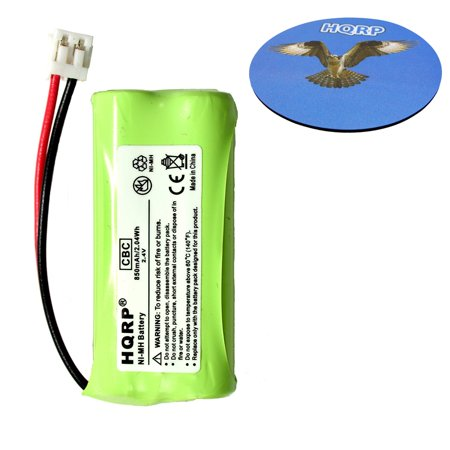 HQRP Cordless Telephone / Phone Battery for AT&T LUCENT BT184342 / BT284342 / 3101 / 3111 / BT8001 / BT8300 Replacement plus