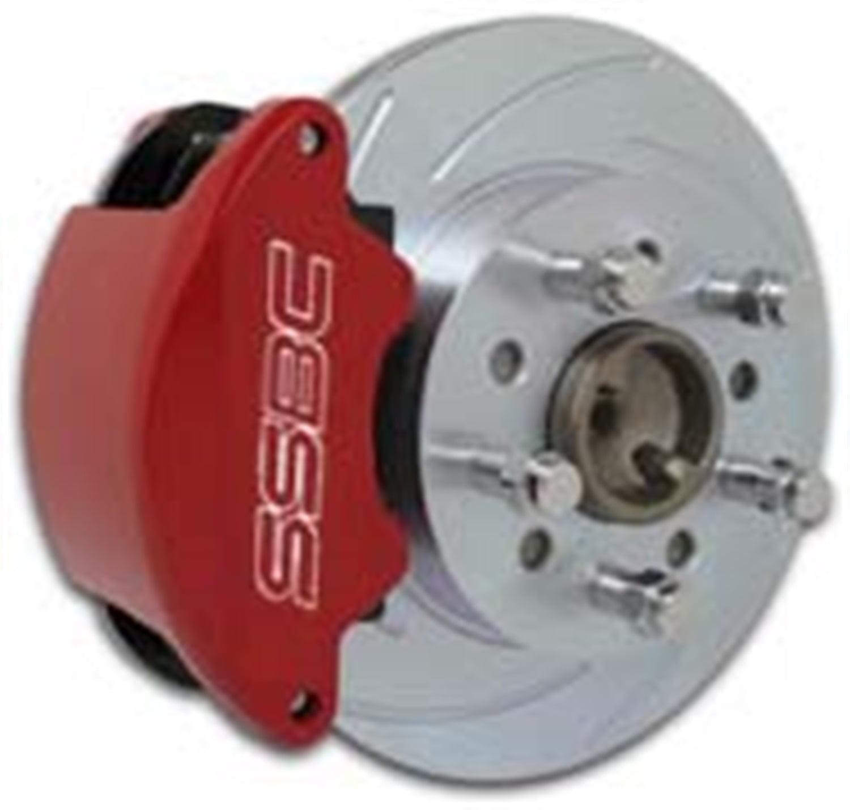 SSBC Performance Brakes A167R SuperTwin; 2-Piston Disc Brake Kit