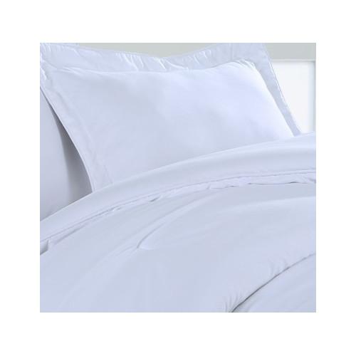 Image of Affluence Home Fashions Hospitality Flat Sheet (Set of 12)