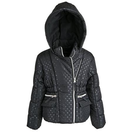 Rothschild Winter Coat (Rothschild Big Girls Down Alternative Fleece Winter Puffer Bubble Jacket)