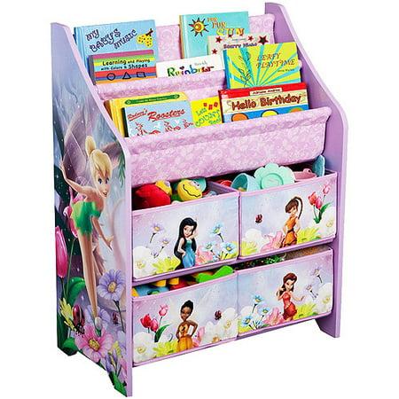 Disney - Tinker Bell Fairies Book and Toy Organizer - Disney - Tinker Bell Fairies Book And Toy Organizer - Walmart.com