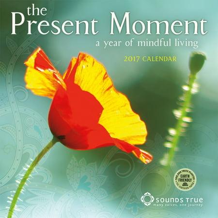 Present Moment Wall Calendar