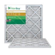 FilterBuy 20x22x1 MERV 11 Pleated AC Furnace Air Filter, (Pack of 2 Filters), 20x22x1 – Gold