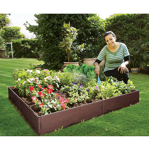 "Backyard Gear Raised Garden Bed, 46""L x 46""W x 5.5""H"