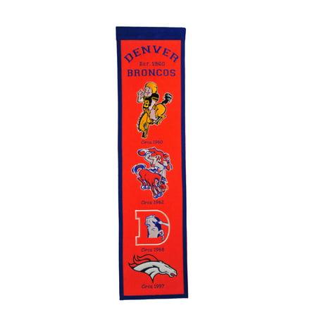 Winning Streak - NFL Fan Favorite Banner, Denver - Denver Broncos Nail Designs