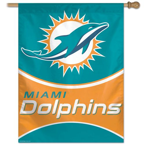 "Miami Dolphins 27""x37"" Banner"