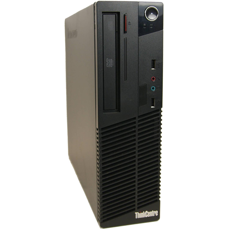 Refurbished Lenovo M71E Desktop PC with Intel Pentium G630 Processor, 4GB Memory, 250GB Hard Drive and Windows 10 Pro (Monitor Not Included)
