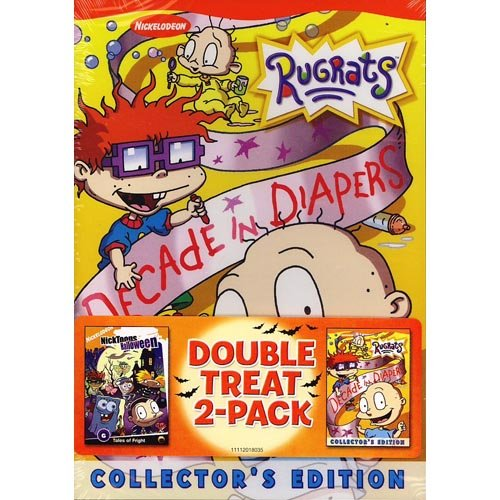 Double Treat 2-Pack - Rugrats: Decade In Diapers Collector's Edition / Nicktoons Halloween (Full Frame)