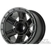 1/16 Desperado 2.2 Black Wheels: EREVO Multi-Colored