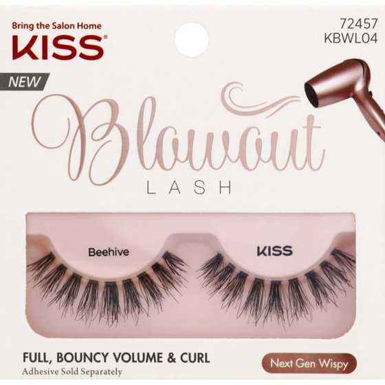 9620ab8f75a Kiss Blowout Beehive Lashes, 1 pair - Walmart.com