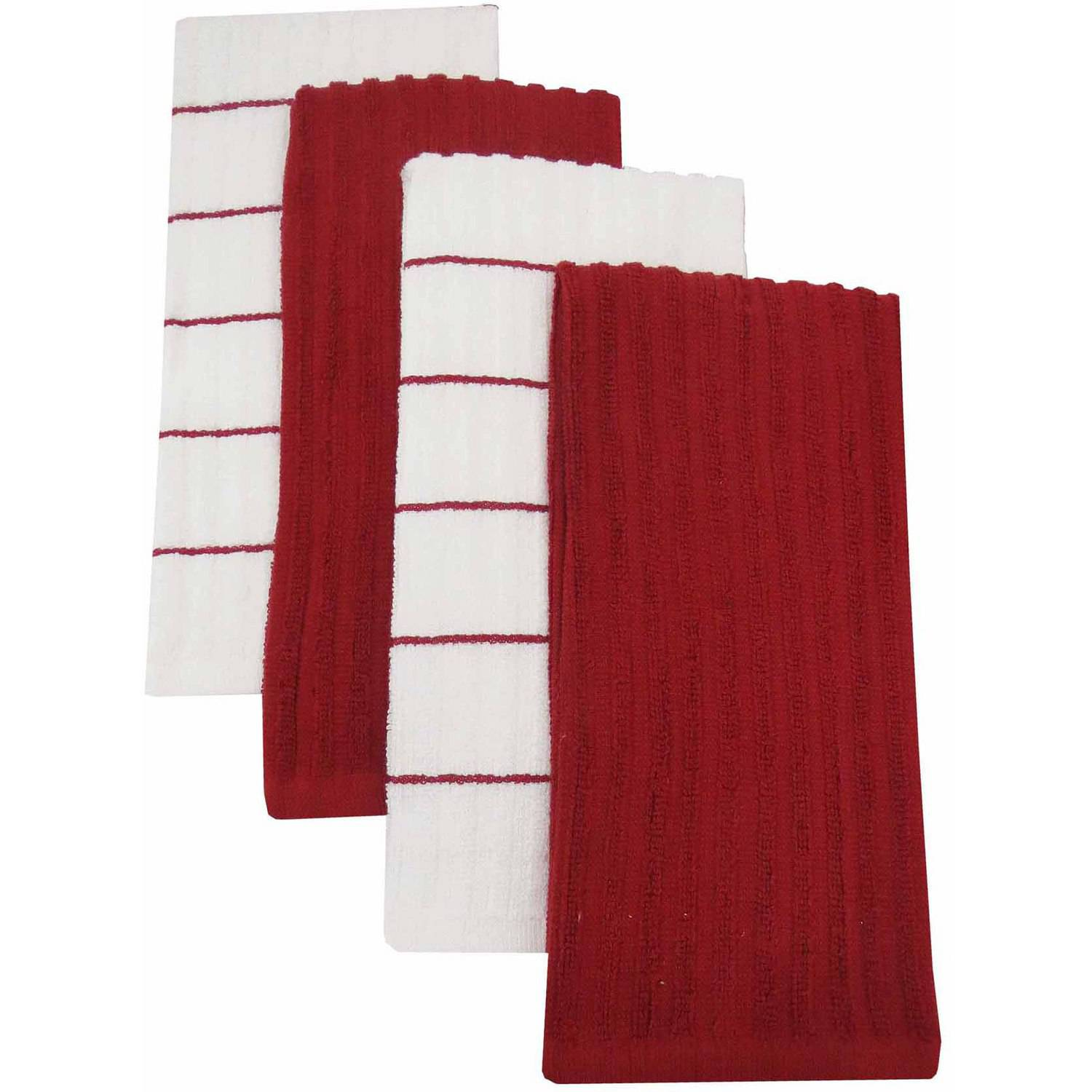 Mainstays Kitchen Towel, 4pk