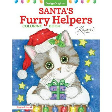 Santa's Furry Helpers Coloring (Santa's Helper)