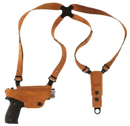 Galco CL662 Classic Lite Shoulder Holster RH Tan Leather fits Glock 43