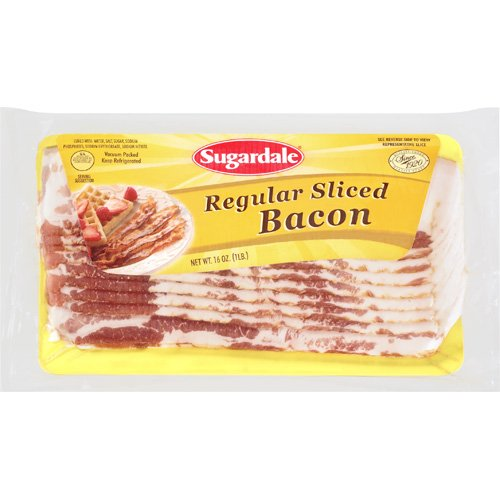 Sugardale: Regular Sliced Bacon, 16 Oz