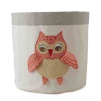 Orange Owl Small Waterproof Storage Bin