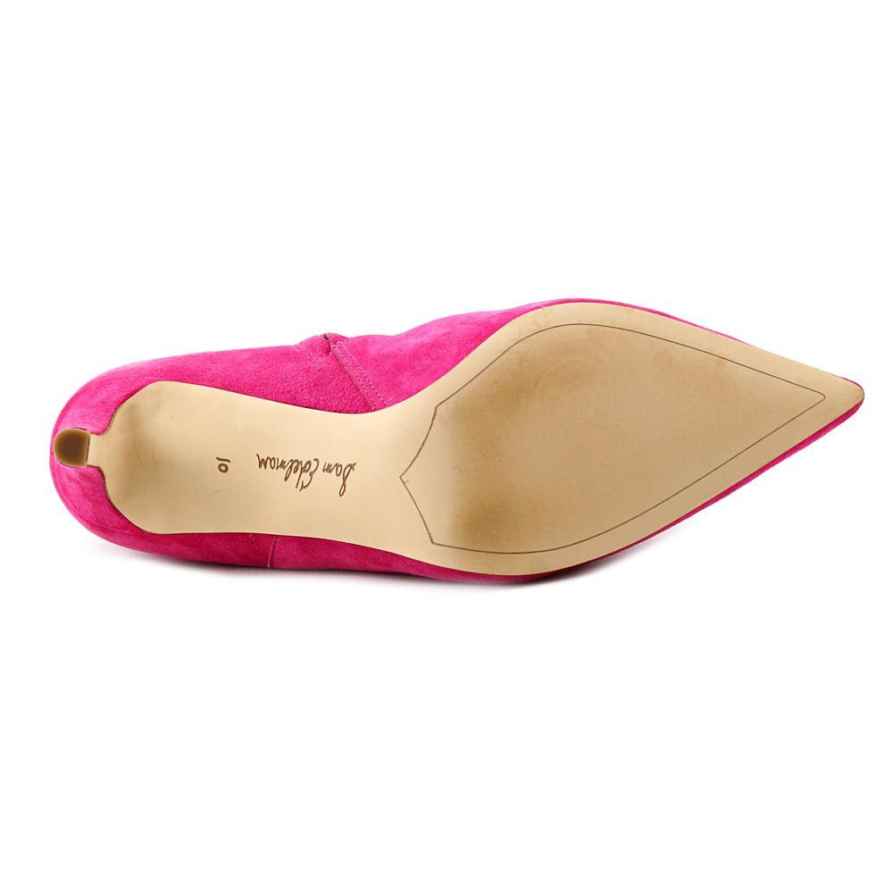 02d026d70414c6 Sam Edelman - Sam Edelman Karen Women Pointed Toe Suede Pink Bootie -  Walmart.com