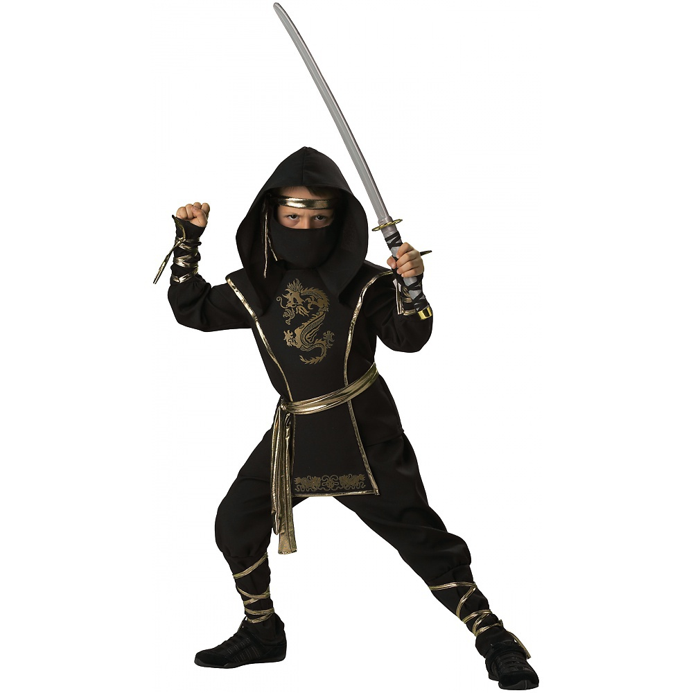 Ninja Warrior Child Costume - X-Large