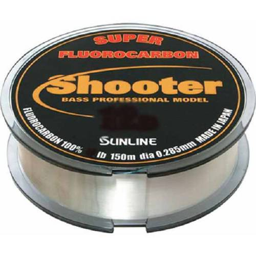 Sunline New Shooter Fluorocarbon Fishing Line, Natural Clear, 150 M by Generic