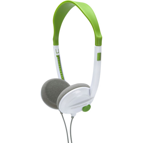 Memorex Kids Headphones, Green