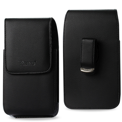 Vertical Pouch Samsung Note Ii N7100 Plus Black