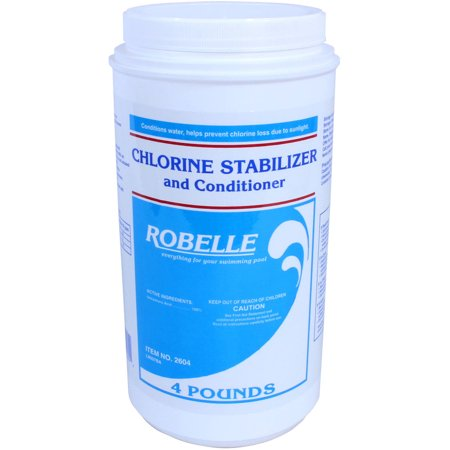 Robelle Chlorine Stabilizer And Conditioner For Swimming Pools