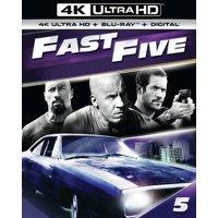 Fast Five (4K Ultra HD + Blu-ray)