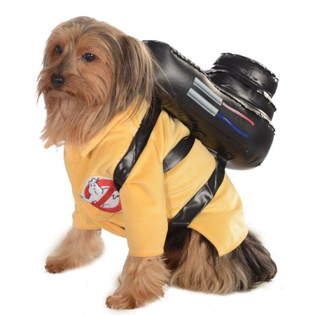 Ghostbuster Jumpsuit Pet Halloween Costume