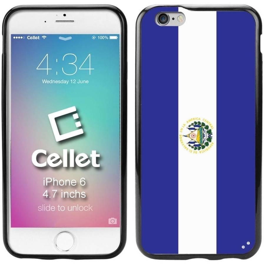 Cellet TPU/PC Proguard Case with El Salvador Flag for Apple iPhone 6