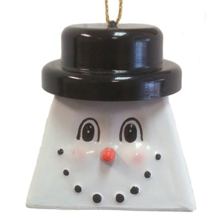 Belsnickel Giggly Lings Constable Frostable Snowman Metal Cowbell (Belsnickel Gift)