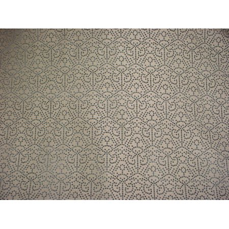 30H13 - Chenille Dots Geometric Transitional Upholstery Drapery Fabric - By the