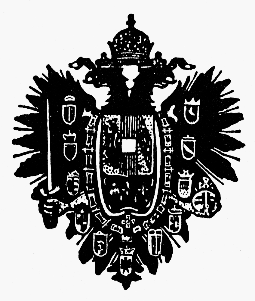 Austrian Empire Coat of Arms 24x36 inch rolled wall poster