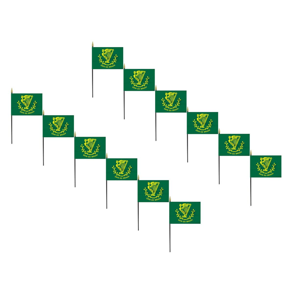 12 pack - Erin Go Bragh Flag 4 x 6 inch