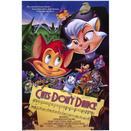Cat Movie Poster (Cats Don't Dance - movie POSTER (Style A) (27