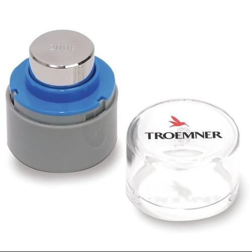 TROEMNER 8138 Calibration Weight, Metric, 200g