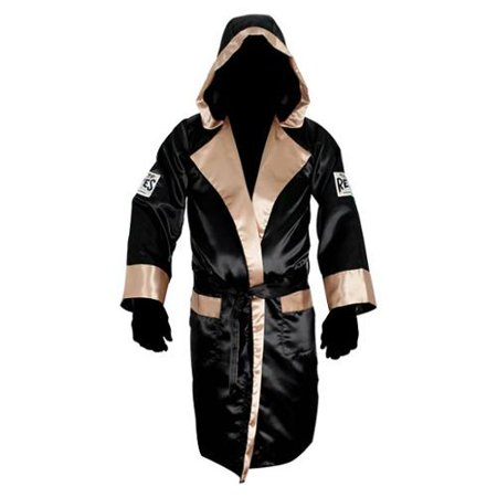 Cleto Reyes Satin Boxing Robe with Hood - -