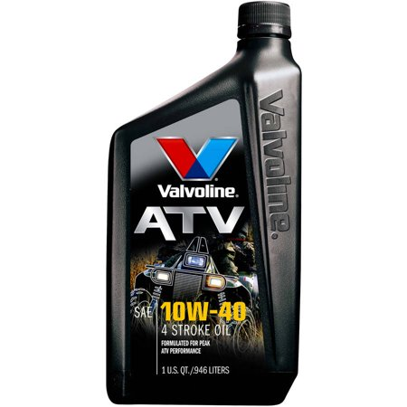 Valvoline 4 stroke atv conventional 10w 40 motor oil 1 for What takes motor oil out of clothes