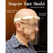Face Shield Snap On/Off for Cleaning (Single)