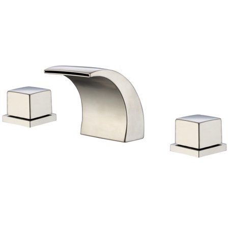 Sumerain International Group Wide-Spread Waterfall LED-Thermal Sink Faucet