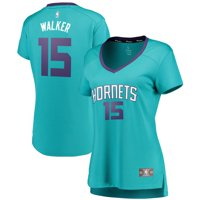 Kemba Walker Charlotte Hornets Fanatics Branded Women's Fast Break Replica Statement Edition Jersey Teal - Icon Edition