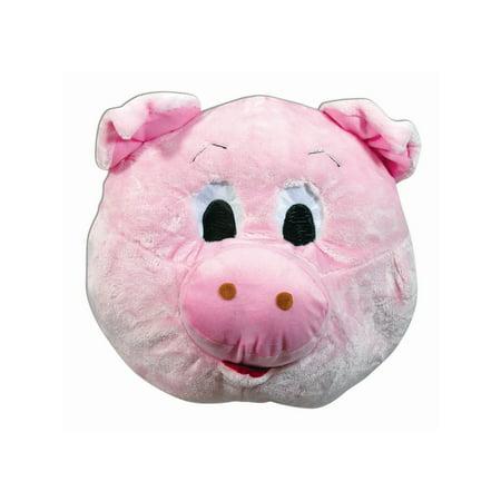 Halloween Pig Mascot Mask