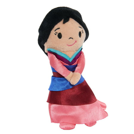 Disney Princess Stylized Bean Plush, Mulan (Princess Toy For Babies)