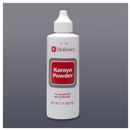 Hollister Karaya Barrier Powder 2-1/2 oz. Puff Bottle 7905