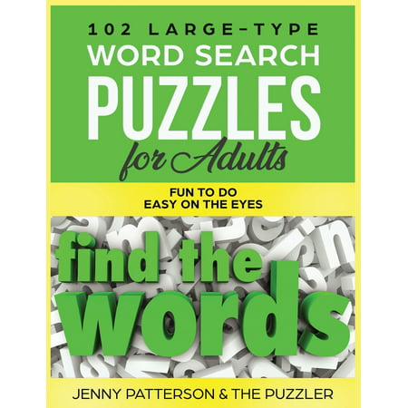 Fun Easy Halloween Games For Adults (102 Large-Type Word Search Puzzles for Adults: Fun To Do - Easy On The Eyes)
