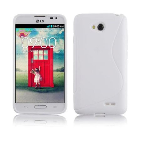 Cadorabo Case for LG L70 cover - Shockproof and Scratch Resistant TPU Silicone Cover - image 1 de 3