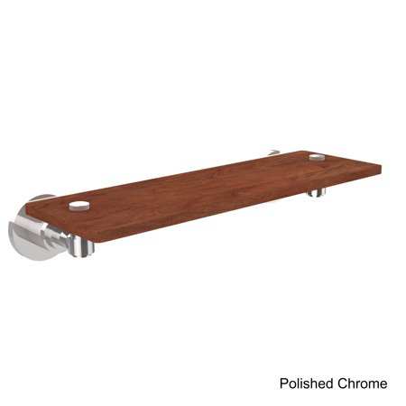 Allied Brass  Washington Square Collection Clear/Black IPE Ironwood 16-inch Solid (Washington Square Mall Stores)