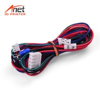 Anet 18AWG Upgrade Heated Bed Cable Hot Bed Line Heatbed Wire Multicolor