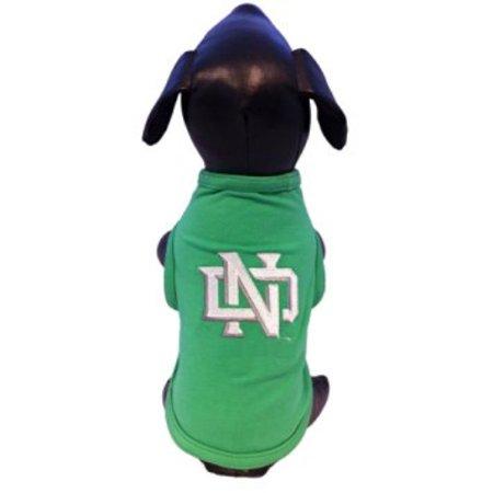 NCAA North Dakota Fighting Sioux Cotton Lycra Dog Tank Top, Tiny